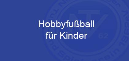 Read more about the article Hobbyfußball ab 6 und 8 Jahren startet wieder!